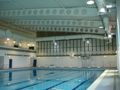 New Sports Centre And Swimming Pool Colchester Garrison Merville Barracks Essex Cj Electrical