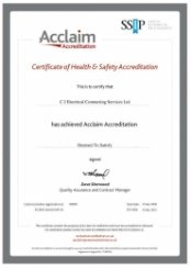 Acclaim Accreditation Certification