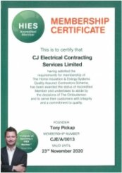 Hies Membership Certification